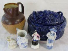 Selection of ceramics inc Portmeirion tureen