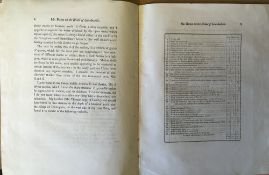 Covered copy of Sketch of Geology of the Lincolnshire Wolds by Edward Bogg printed by William