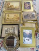 Selection of prints,