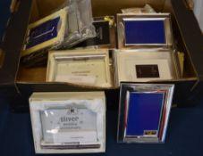 Ex shop stock - Quantity of brand new good quality photo frames