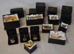 Ex shop stock - Quantity of Treasured Trinkets animal shaped trinket pots