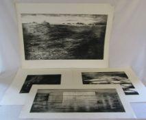 4 Artist Proof etchings by David Smith (1920-1999) (Chelsea School of Art,