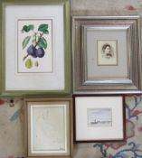 Various prints and vintage photograph etc