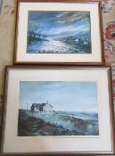 2 prints by Ashley Jackson,