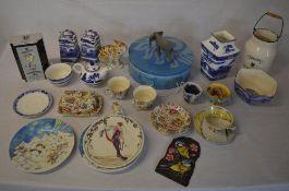 Quantity of ceramics including Ringtons,