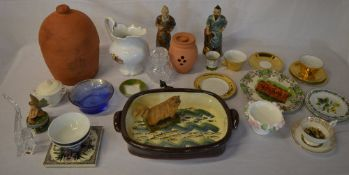 Various ceramics including Royal Worcester,