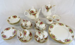 Royal Albert 'Old Country roses' part dinner/tea service approximately 32 pieces