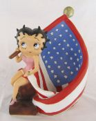 Betty Boop stars and stripes figure H 39 cm