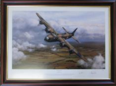 2 limited edition prints by Philip West 6/175 'Sterling Service' complete with certificate of