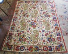Large wall tapestry/needlework 194 cm x 148 cm