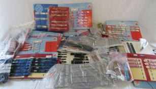 Large quantity of watch straps