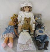2 1960s dolls,