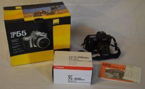 Canon EOS 1000F camera,