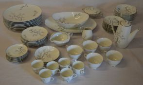 Possibly Noritake part dinner/tea service,