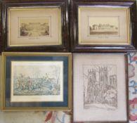 2 framed photogrpahs of Harewood House,