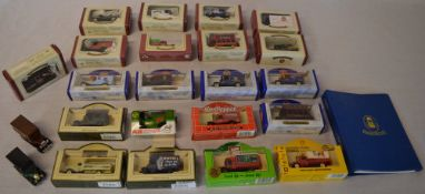 Die cast model cars including Oxford Die cast and Lledo