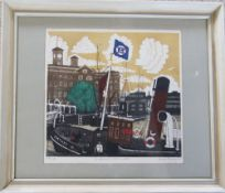 Limited edition print of St Katharine's Dock,