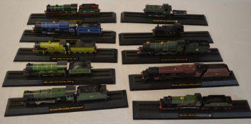 Box of Amercom display model trains/locomotives