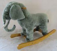 Rocking elephant toy
