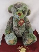 Modern jointed teddy bear by Charlie Bears 'Bamboozle' designed by Isabelle Lee L 50 cm