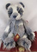Modern jointed teddy bear by Charlie Bears 'Twinky' L 55 cm