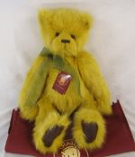 Modern jointed teddy bear by Charlie Bears 'Keeper' designed by H Lyell L 52 cm