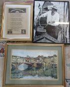 Assorted prints