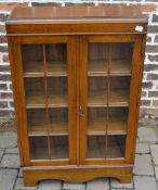 Small glazed cabinet