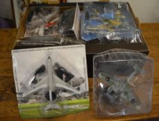 Various Amercom model aircraft figures