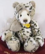 Modern jointed teddy bear by Charlie Bears 'Geoffrey' designed by Isabelle Lee L 46 cm