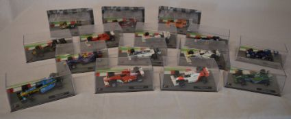 Approx 15 'Formula 1 The Car Collection' boxed die cast models