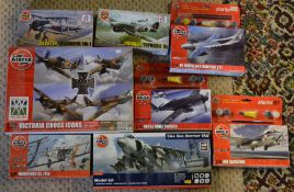 Approx 8 Airfix 1:72 model kits including Victoria Cross Icons