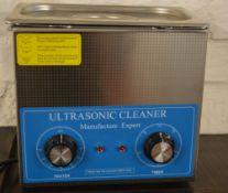 Heated ultrasonic cleaner,