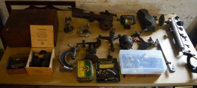 Watchmakers lathe / lathe parts and tools,