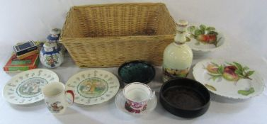 Various ceramics inc Wade,
