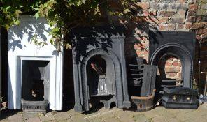 Various fireplaces