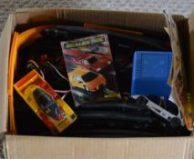 Box of Scalextric (unchecked)
