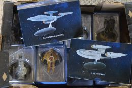 Various Star Trek eaglemoss collectable figures
