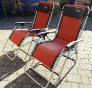 2 'Active Sport' garden recliners