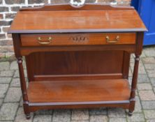 Small mahogany sideboard