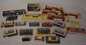 Various boxed die cast model vehicles including Days Gone, Hamleys,