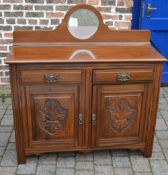 Late Victorian sideboard