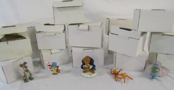 Collection of 16 Disney character Christmas tree ornaments (1 af) (boxed)