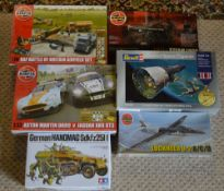 Approx 6 Airfix/Revell/Tamiya model kits including Gemini Space Capsule and Lockheed U-2 A/C/D