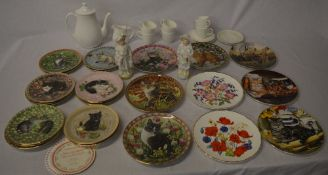 Quantity of collectors plates,