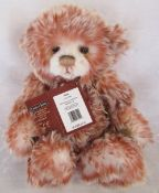 Modern jointed teddy bear by Charlie Bears 'Edith' designed by Isabelle Lee L 33 cm