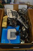 Various house phones etc