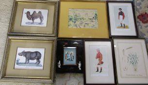 Assorted prints inc Spy
