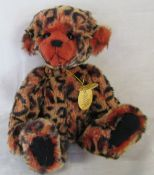 Modern jointed teddy bear by Charlie Bears 'Chris Tingle' designed by Heather Lyell L 29 cm
