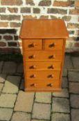 Oak cabinet H 61 cm